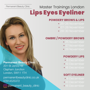 Master Microblading Trainings Schedule
